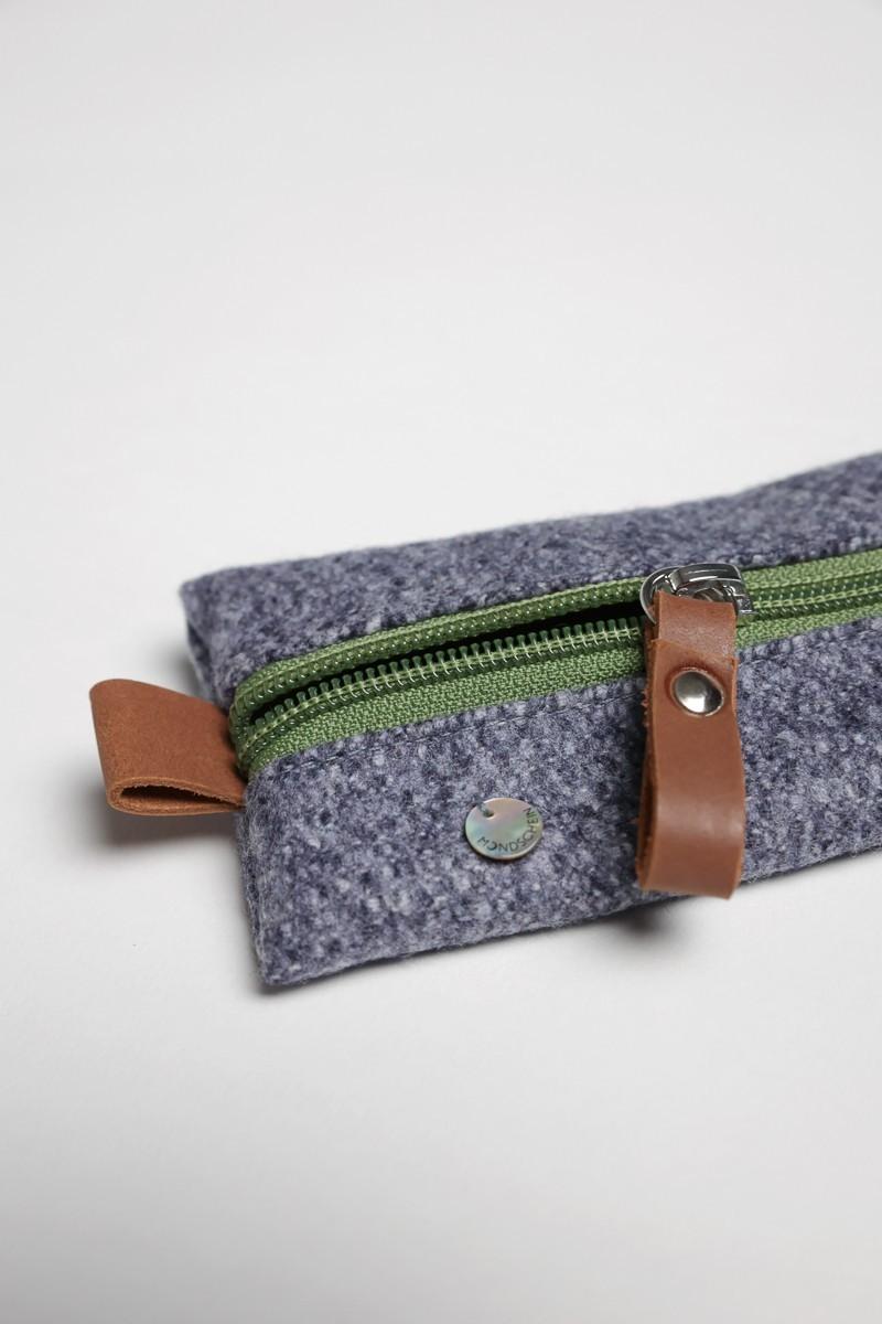 Tracht Loden Schultertuch mit Baumwolle und Wolle
