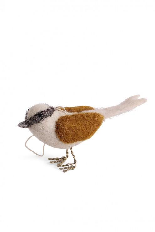 Filz Vogel, handgefilzte Vögel, Dekoration, Osterbaum Schmuck, aus Filz, Weihnachtsschmuck, Christbaumbehang, Christbaumschmuck