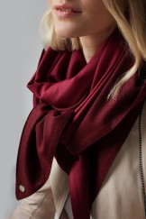 """Triangle Scarf """"MAGDA"""" aus Loden"""
