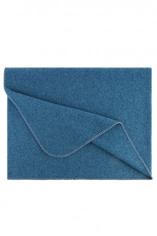 Triangle Scarf MAGDA made from Loden