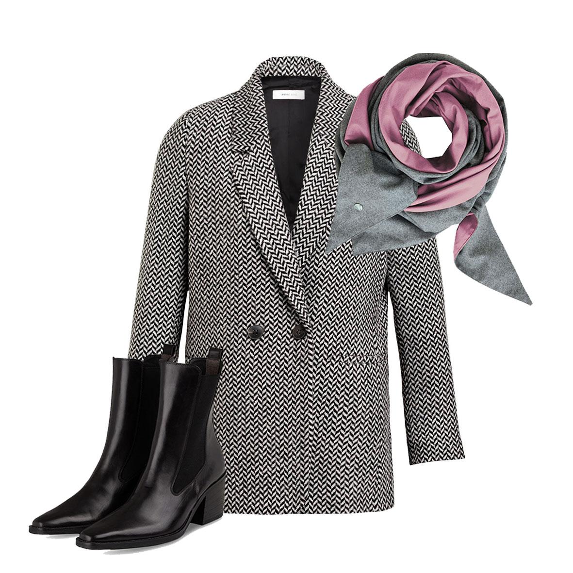Oversized Blazer, Looks für den Herbst, Farbtrends für den Herbst, Stylische Blazer für die Übergangszeit, Anine Bing Blazer
